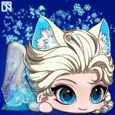 Cute Elsa cat.