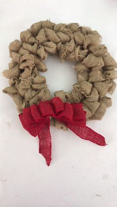 DIY Burlap Wreath this could be a great starting point for something phenomenal!DIY Burlap Wreath~ I've made these. They are super easy!Christmas Wreaths Etsy Christmas Wreaths Near MeLook what I pinned -> Christmas Wreaths With Lights Battery Oper Wreath Crafts, Diy Wreath, Diy Burlap Wreath, Ribbon Wreath Tutorial, Rustic Burlap Crafts, Burlap Wreaths For Front Door, Burlap Bubble Wreath, Cotton Wreath, Fabric Wreath
