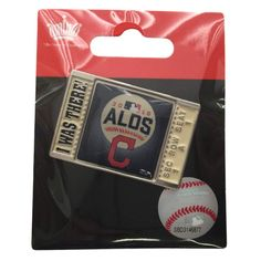 "Cleveland Indians 2016 MLB Postseason ALDS ""I Was There"" Metal Lapel Pin"