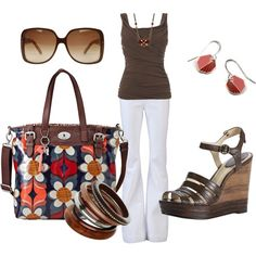 Summer Brown, created by kurlzrock on Polyvore