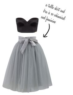 """tulle skirt"" by jessica-349 on Polyvore featuring Chicwish and Ultimo"