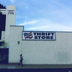 American Way Thrift Store by Andy Hurvitz