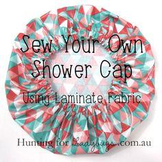 Sew-Your-Own-Shower-Cap-tutorial http://www.modes4u.com/en/cute/c226_Laminates.html