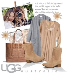 """""""On the Road with UGG: Contest Entry"""" by edenslove on Polyvore"""