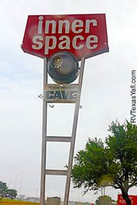 Inner Space Cavern in Georgetown, Texas
