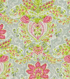 Home Decor Print Fabric-Dena Crystal Vision Petal