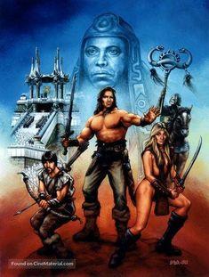 Conan - Comic Art Member Gallery Results - Page 81 Fantasy Movies, Sci Fi Fantasy, Conan The Barbarian Comic, Conan Movie, Great Sword, Conan Comics, Fantasy Sword, Sword And Sorcery, Original Movie Posters