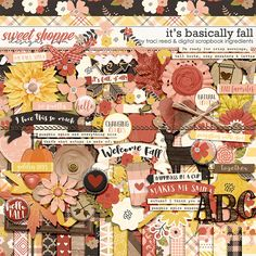 It's Basically Fall by Traci Reed & Digital Scrapbook Ingredients