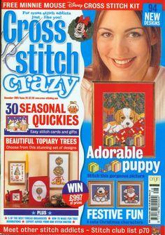 Gallery.ru / Photo # 1 - Cross Stitch Crazy 028 December 2001 - tymannost