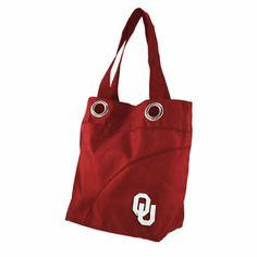 Oklahoma Sooners Color Sheen Tote Bag #Sooners #OU