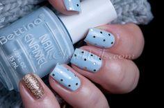 ChitChatNails » Blog Archive » Glitter Polka Dots