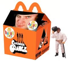 Newt Clements has envisioned what it would be like if our favourite cult movies, TV shows and video games just happened to find themselves as the next McDonald's kids meal promotion. Kill Bill, Natural Born Killers, Cult Movies, Horror Movies, Films, Funny Horror, Scary Movies, King Kong, Blade Runner