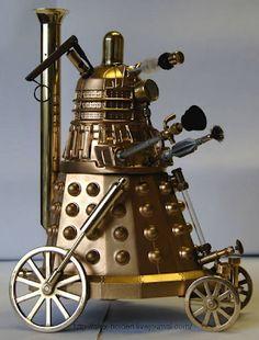 Steampunk Dalek!!