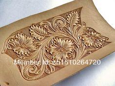 leather carving key bag pattern leather craft patterns-SR