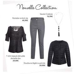 Encore de nombreuses nouveautés cette semaine. Optez pour un look total noir ! ► http://nuk.io/bE1eAS #jemesensbelle