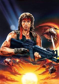 Comic books, B movies and retro porn. Cult Movies, Comic Movies, Sci Fi Movies, Movie Characters, Action Movies, Horror Movies, Stallone Cobra, Sylvester Stallone Rambo, Cinema Posters