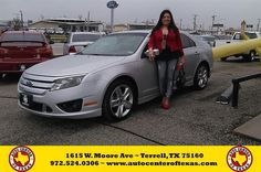https://flic.kr/p/F6jhBS   Happy Anniversary to Samantha on your #Ford #Fusion from Monica Rueda at Auto Center of Texas!   deliverymaxx.com/DealerReviews.aspx?DealerCode=QZQH