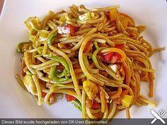 Asiatischer Nudelsalat, ein gutes Rezept aus der Kategorie Fleisch & Wurst. Bewertungen: 74. Durchschnitt: Ø 4,3.
