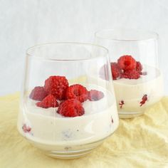 Raspberry Zabaglione