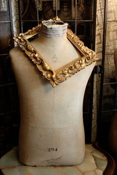 french antique dress form 19th C. marked Paris