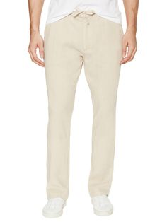Linen Drawstring Pants from Lightweight Linen Finds on Gilt