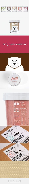 Frill: frozen smoothie numa embalagem pra lá de fofa by Gabi Barbosa curated by Packaging Diva PD. How cute is this frozen smoothie #packaging healthy too created via http://followthecolours.com.br/taste/frill-frozen-smoothie-numa-embalagem-pra-la-de-fofa/
