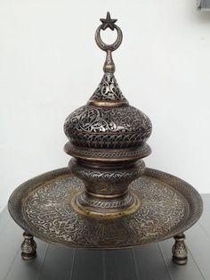 Islamic Mamluk Ottoman Incense Burne