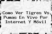 http://tecnoautos.com/wp-content/uploads/imagenes/tendencias/thumbs/como-ver-tigres-vs-pumas-en-vivo-por-internet-y-movil.jpg Tigres Vs Pumas En Vivo. Como Ver Tigres vs. Pumas en Vivo por Internet y Móvil, Enlaces, Imágenes, Videos y Tweets - http://tecnoautos.com/actualidad/tigres-vs-pumas-en-vivo-como-ver-tigres-vs-pumas-en-vivo-por-internet-y-movil/