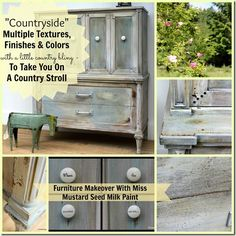 Countryside Makeover With Multiple Miss Mustard Seed Finishes By Turnstyle Vogue