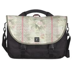 "Lacy Ribbon ""Misty Rose"" Commuter Bag"