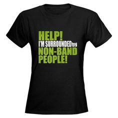 Non Band People Women's Dark T-Shirt