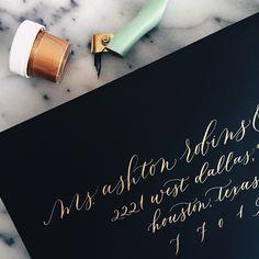 My Harlow addressing style   #calligraphy by Loveletterer
