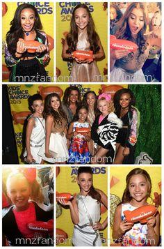 KCA 2015 Best Reality TV Show... DANCE MOMS!