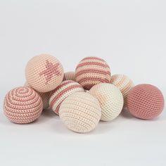 Hæklede bolde E-opskrift