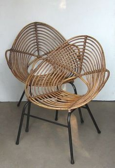 ROTIN bamboo modern design chair
