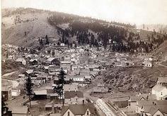 Deadwood, Dakota Territory in 1800's