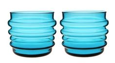 I just love this color glass, Marimekko
