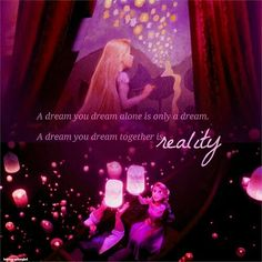 What's a dream? Cute Disney Quotes, Disney Princess Quotes, Disney Princess Pictures, Disney Princess Frozen, Disney Rapunzel, Arte Disney, Disney Art, Princess Rapunzel, Disney Quotes About Love