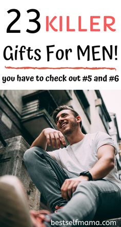 Buying gifts for men can seem like an impossible task. This list is the answer to that problem. Find some Buying gifts for men can seem like an impossible task. This list is the answer to that problem. Find some killer gifts that men are sure to love! Thoughtful Gifts For Boyfriend, Presents For Boyfriend, Birthday Gifts For Boyfriend, Boyfriend Ideas, Best Gift For Boyfriend, 25th Birthday Ideas For Him, Cheap Gifts For Boyfriend, Valentine Gifts For Husband, Valentines