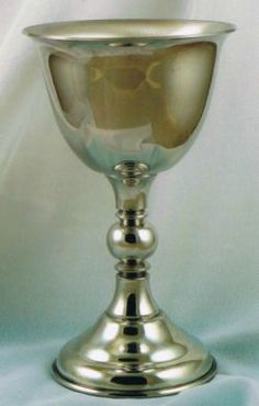 Pewter goblet by Karen Helble (click to enlarge)