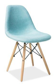 Scaun din lemn tapitat Coco Mint #homedecor #inspiration #interiordesign Eames, Dining Chairs, Interior Design, Pastel, Mint, Inspiration, Furniture, Home Decor, Nest Design