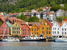 "This UNESCO Heritage Site is the old merchant quarter of Bergen and the only preserved business district from the Hanseatic period. The wharf of Bryggen inspired the design of the city of Arendelle in Frozen, and it's still in use today with offices, shops, and restaurants bustling with activity and filled with charm. —Jaime Morrison Curtis  Read more: Places in Norway That Inspired Disney's ""Frozen"""