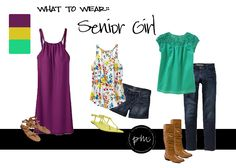 What to Wear for Senior Pics - Girls