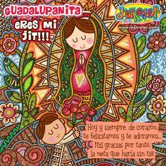 Virgencita Guadalupe, Hoy te celebramos como lo mereces!!
