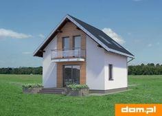 DOM.PL™ - Projekt domu AN KRASNAL CE - DOM AO10-85 - gotowy koszt budowy Home Fashion, Shed, Outdoor Structures, House Styles, Arquitetura, Barns, Sheds