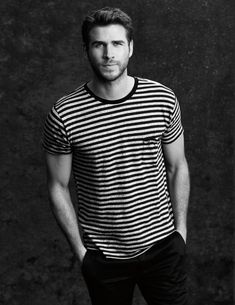 T-shirt by Saint Laurent, trousers by Givenchy  #legend Magazine Photography / Eric Michael Roy