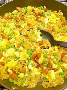 """Fried Rice Recipe I was really excited to make this. It was good, but not """"fried"""" rice like i'm used to. If I make this recipe again I will be using less soy sauce because that is why it didn't turn out """"fried""""."""