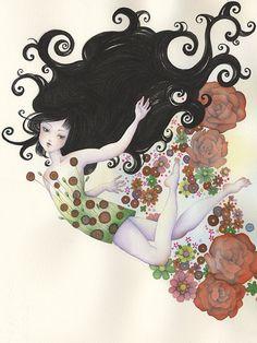 Original Art Decor Watercolor Painting by fairestflower on Etsy