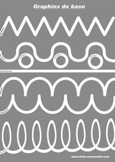 Graphisme en moyenne section et grande section : les graphies de base