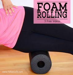 Free foam rolling videos